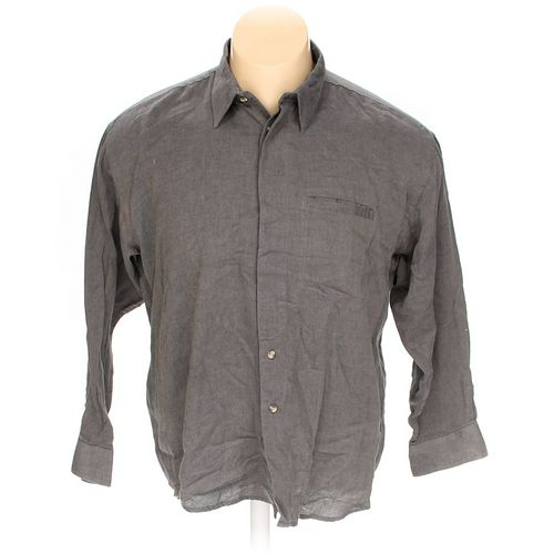 Sansabelt Button-up Long Sleeve Shirt in size XL at up to 95% Off - Swap.com