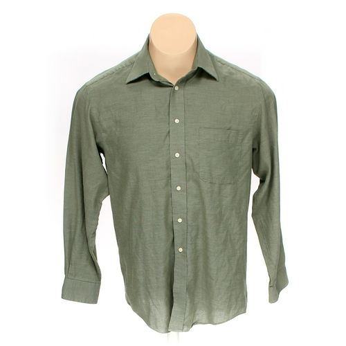 """Savile Row Button-up Long Sleeve Shirt in size 46"""" Chest at up to 95% Off - Swap.com"""