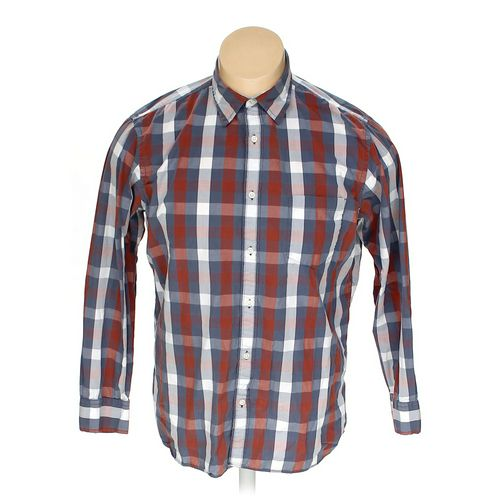 Sonoma Button-up Long Sleeve Shirt in size XL at up to 95% Off - Swap.com