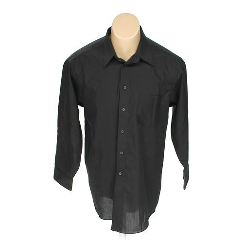 "Stafford Button-up Long Sleeve Shirt in size 48"" Chest at up to 95% Off - Swap.com"