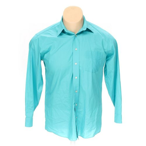 """Stafford Button-up Long Sleeve Shirt in size 50"""" Chest at up to 95% Off - Swap.com"""