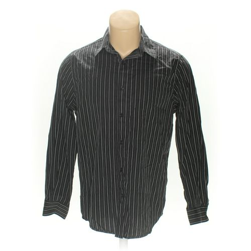 Structure Button-up Long Sleeve Shirt in size L at up to 95% Off - Swap.com