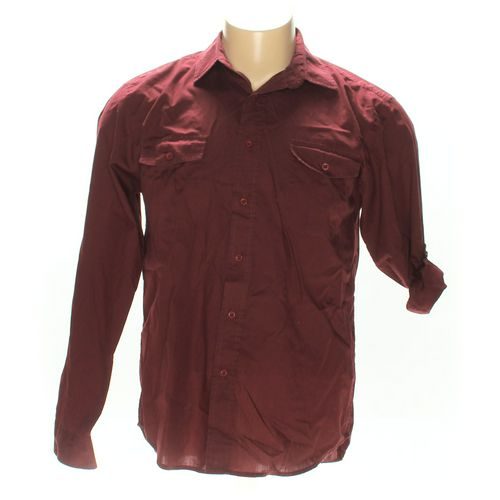Structure Button-up Long Sleeve Shirt in size XL at up to 95% Off - Swap.com