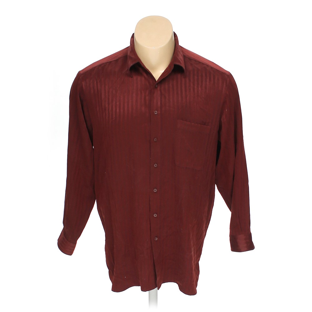 14bbcc83dab8 Synrgy Button-up Long Sleeve Shirt in size 2XL at up to 95% Off