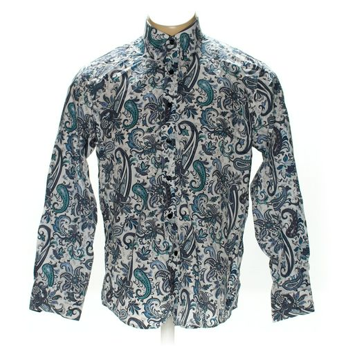 Tasso Elba Button-up Long Sleeve Shirt in size L at up to 95% Off - Swap.com