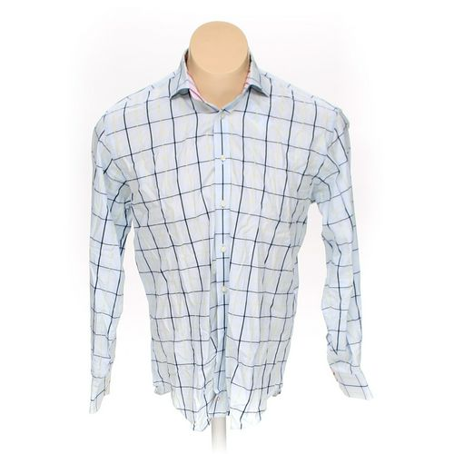 TD THOMAS DEAN Button-up Long Sleeve Shirt in size L at up to 95% Off - Swap.com