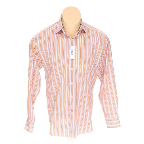 TD THOMAS DEAN Button-up Long Sleeve Shirt in size M at up to 95% Off - Swap.com