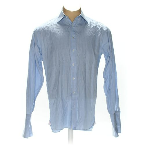 """Thomas Pink Button-up Long Sleeve Shirt in size 40"""" Chest at up to 95% Off - Swap.com"""