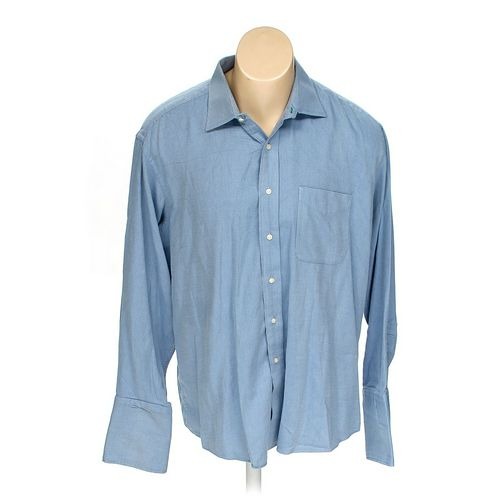 """Tommy Hilfiger Button-up Long Sleeve Shirt in size 52"""" Chest at up to 95% Off - Swap.com"""