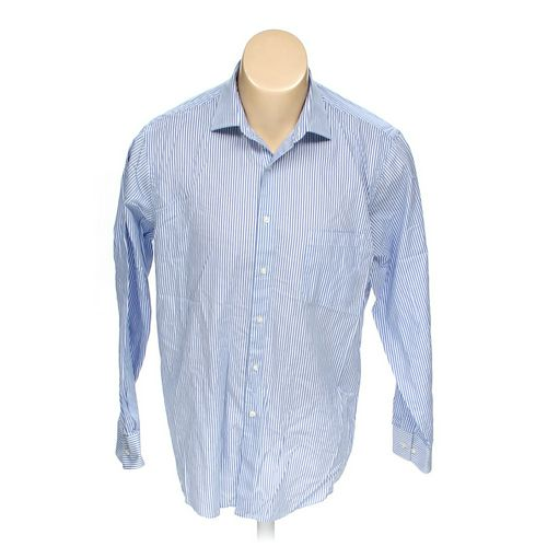 """Van Heusen Button-up Long Sleeve Shirt in size 48"""" Chest at up to 95% Off - Swap.com"""
