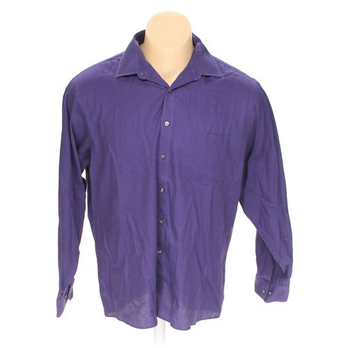 """Van Heusen Button-up Long Sleeve Shirt in size 54"""" Chest at up to 95% Off - Swap.com"""