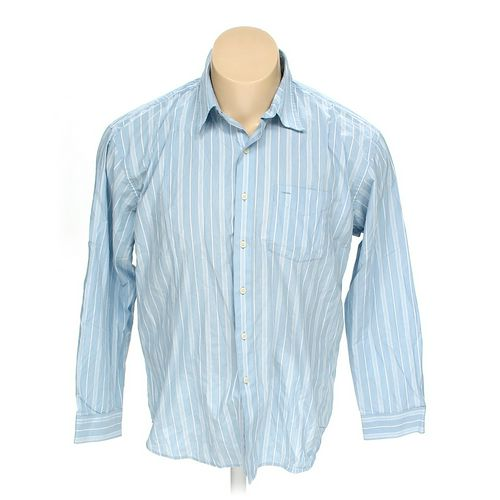 Van Heusen Button-up Long Sleeve Shirt in size XXL at up to 95% Off - Swap.com