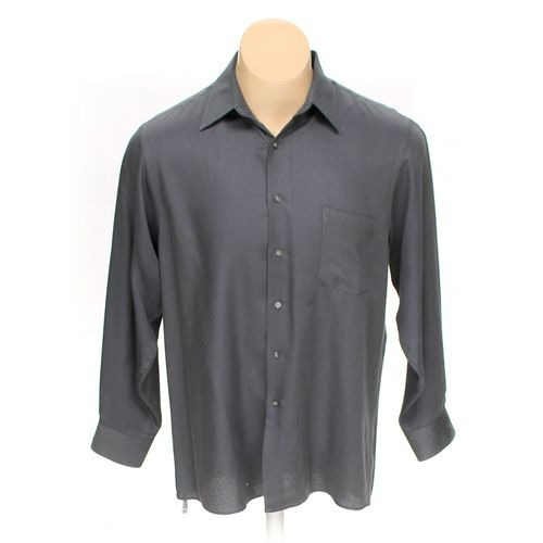 Van Heusen Button-up Long Sleeve Shirt in size L at up to 95% Off - Swap.com