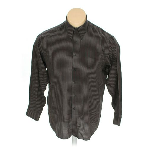 Van Heusen Button-up Long Sleeve Shirt in size XL at up to 95% Off - Swap.com