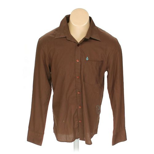 Volcom Button-up Long Sleeve Shirt in size M at up to 95% Off - Swap.com