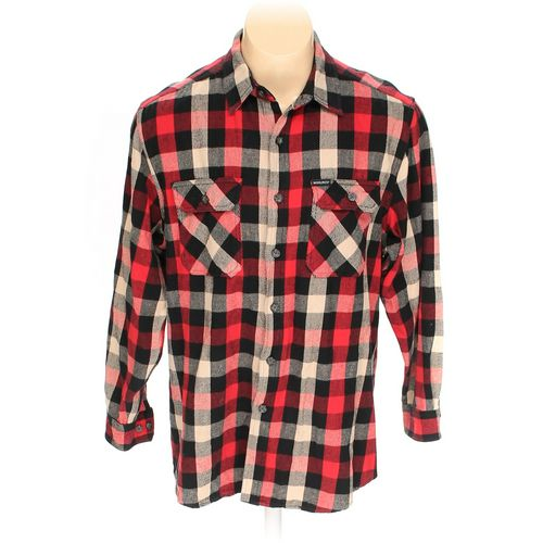 Woolrich Button-up Long Sleeve Shirt in size L at up to 95% Off - Swap.com