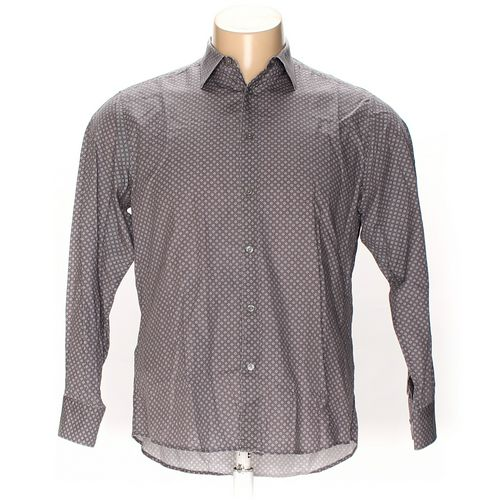 "Zegna Sport Button-up Long Sleeve Shirt in size 44"" Chest at up to 95% Off - Swap.com"