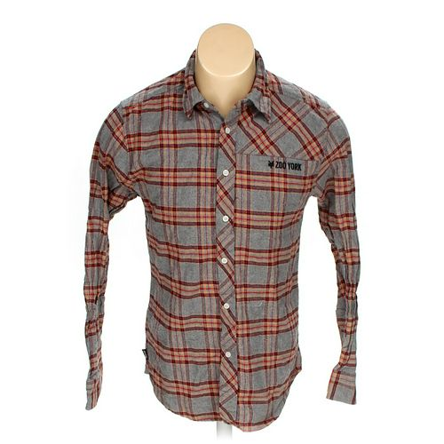 Zoo York Button-up Long Sleeve Shirt in size M at up to 95% Off - Swap.com