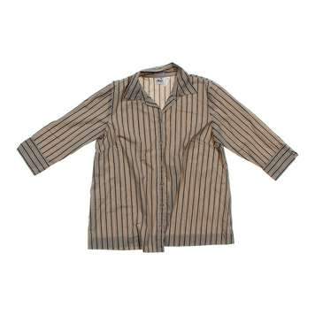 Button-Up Maternity Shirt for Sale on Swap.com