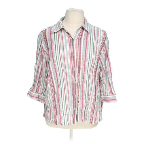 Button-up Shirt in size 1X at up to 95% Off - Swap.com