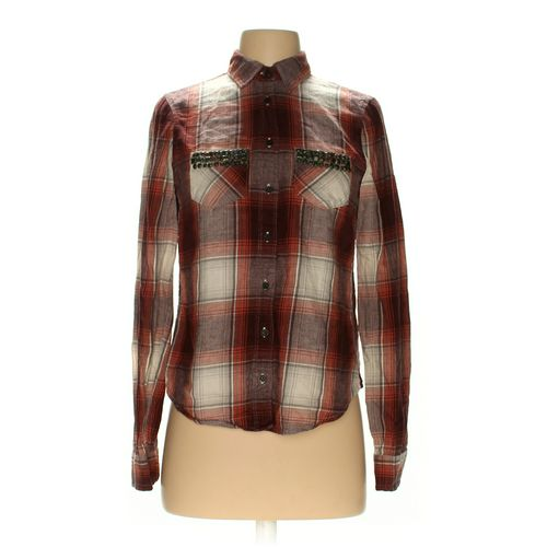 Abercrombie & Fitch Button-up Shirt in size XS at up to 95% Off - Swap.com
