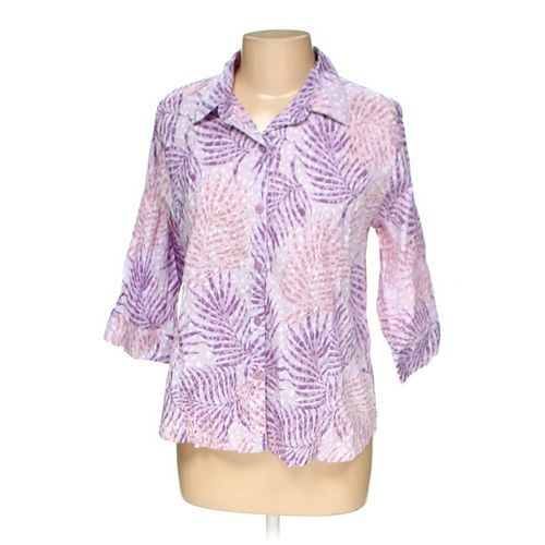 Adrian Delafield Button-up Shirt in size L at up to 95% Off - Swap.com