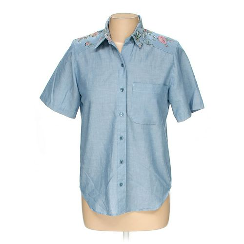 Alfred Dunner Button-up Shirt in size 6 at up to 95% Off - Swap.com