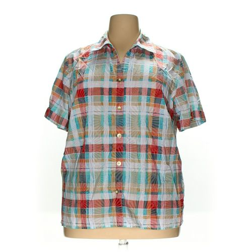 Alfred Dunner Button-up Shirt in size 18 at up to 95% Off - Swap.com