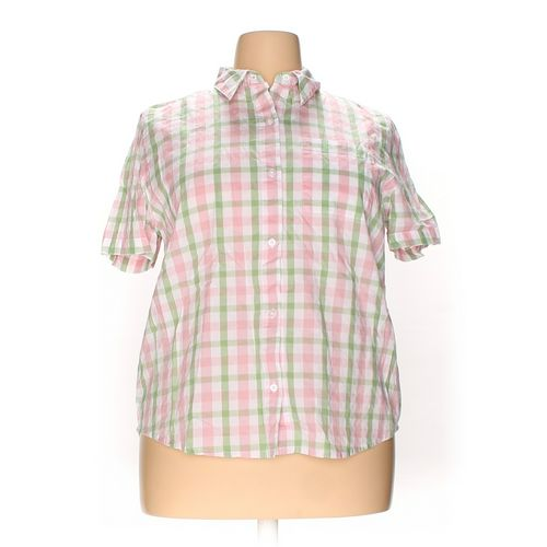 Alfred Dunner Button-up Shirt in size 20 at up to 95% Off - Swap.com