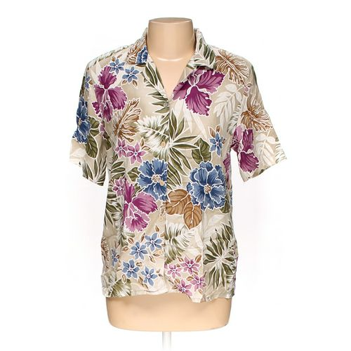 Alfred Dunner Button-up Shirt in size 10 at up to 95% Off - Swap.com