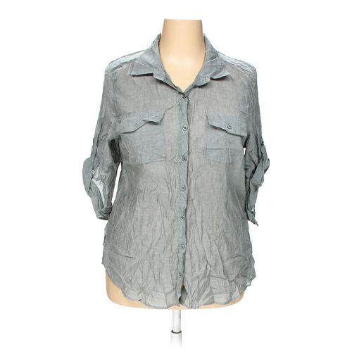 Ali & Kris Button-up Shirt in size 2X at up to 95% Off - Swap.com
