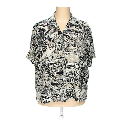 Alia Button-up Shirt in size 24 at up to 95% Off - Swap.com