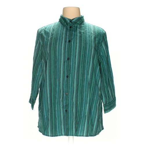 Alia Woman Button-up Shirt in size 22 at up to 95% Off - Swap.com