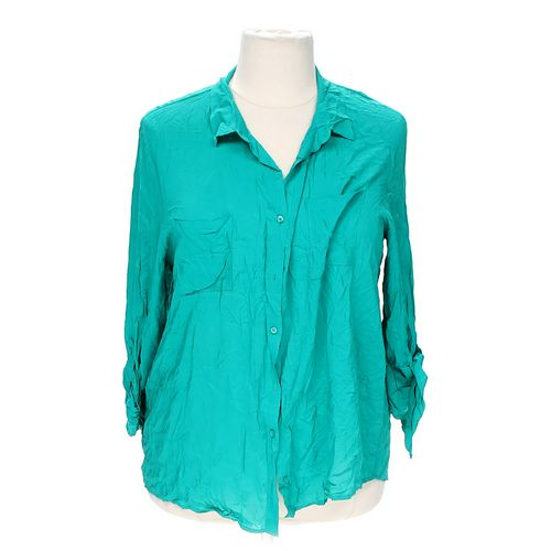 Ambiance Apparel Button-up Shirt in size 3X at up to 95% Off - Swap.com