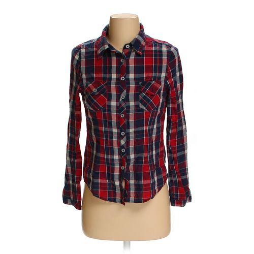 Ambiance Apparel Button-up Shirt in size S at up to 95% Off - Swap.com