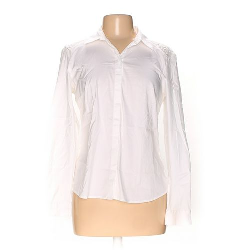 Ann Taylor Button-up Shirt in size 10 at up to 95% Off - Swap.com