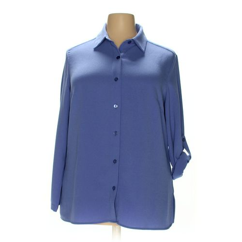 Appleseed's Button-up Shirt in size 16 at up to 95% Off - Swap.com