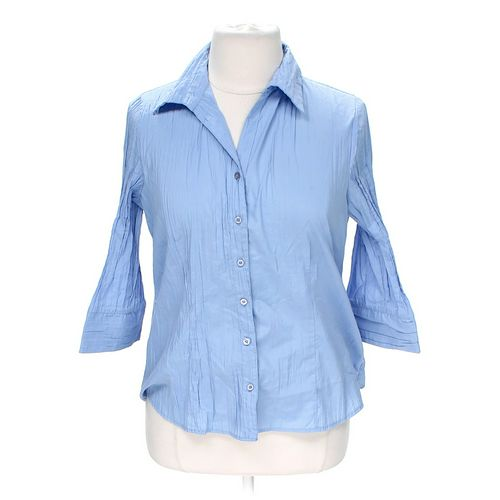 Apt. 9 Button-up Shirt in size 1X at up to 95% Off - Swap.com