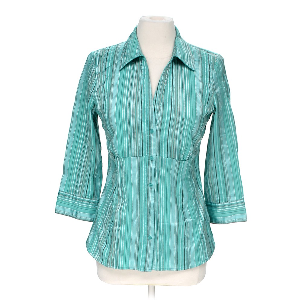 Apt 9 button up shirt online consignment for Polyester button up shirt