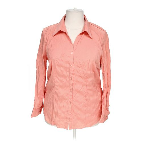 Ashley Stewart Button-up Shirt in size 1X at up to 95% Off - Swap.com