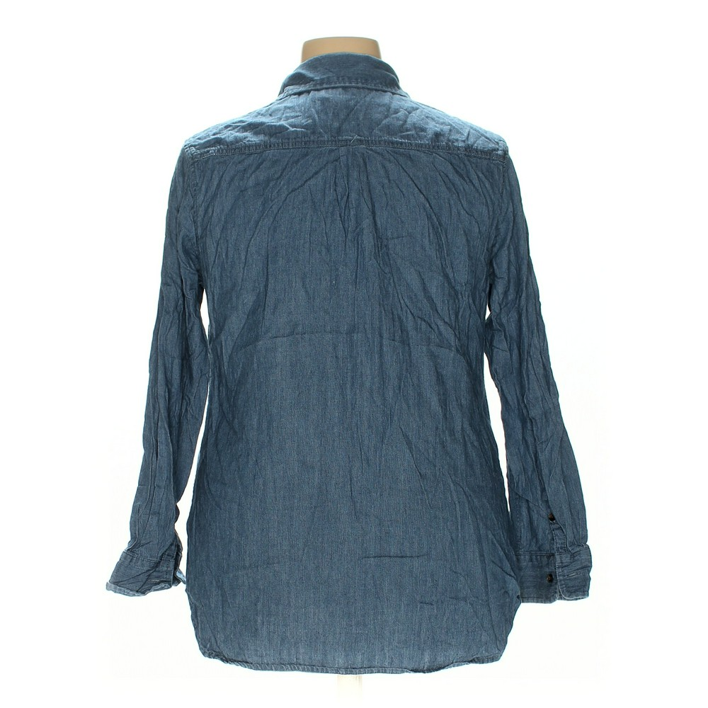 1d3a4b9b19e Ava   Viv Button-up Shirt in size 1X at up to 95% Off. 1X. All our photos  are of actual items.