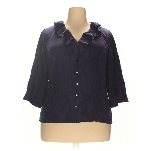 Avenue Button-up Shirt in size 18 at up to 95% Off - Swap.com