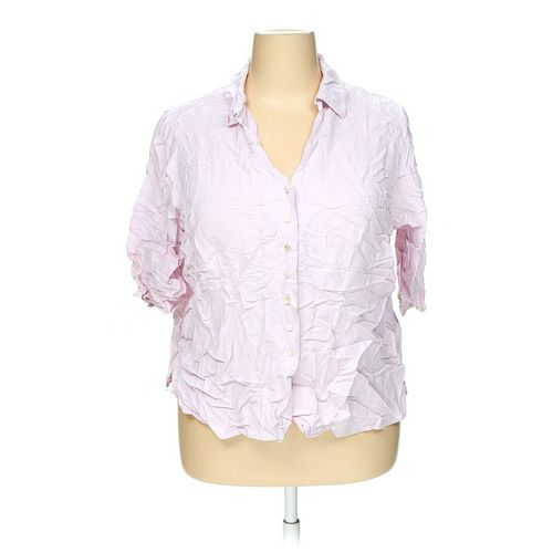 Avenue Button-up Shirt in size 22 at up to 95% Off - Swap.com