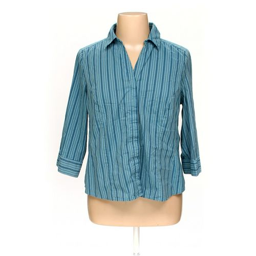 Basic Editions Button-up Shirt in size 1X at up to 95% Off - Swap.com