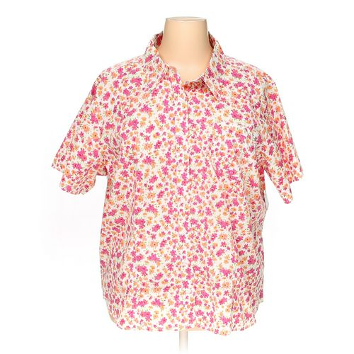 Basic Editions Button-up Shirt in size 3X at up to 95% Off - Swap.com