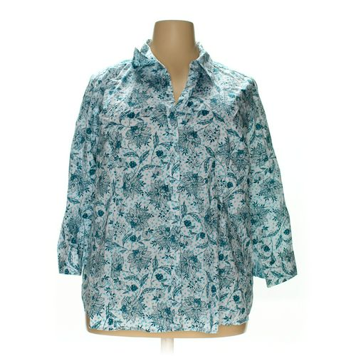 Basic Editions Button-up Shirt in size 4X at up to 95% Off - Swap.com