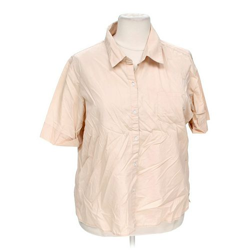 Basic Editions Button-up Shirt in size XL at up to 95% Off - Swap.com
