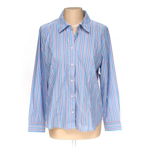 Basic Editions Button-up Shirt in size L at up to 95% Off - Swap.com