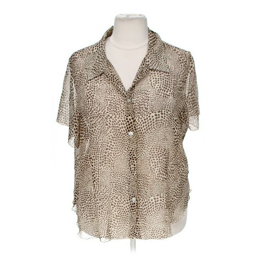Believe Woman Button-up Shirt in size 22 at up to 95% Off - Swap.com