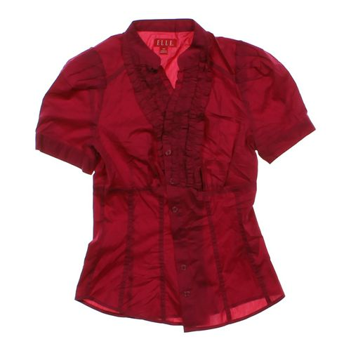 ELLE Button-up Shirt in size XS at up to 95% Off - Swap.com